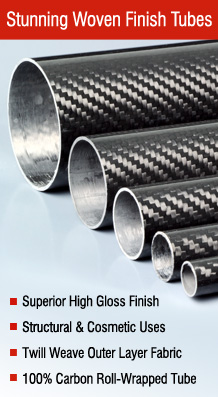 Roll Wrapped Carbon Fibre Tube - Easy Composites